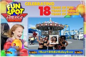 Fun Spot's 18th Birthday