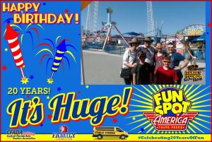 FunSpot 20th  Birthday
